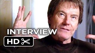 Godzilla Interview - Bryan Cranston (2014) - Elizabeth Olsen Monster Movie HD