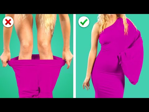 COOL DIY CLOTHES HACKS ! 11 Amazing Girly Clothes DIY Transformation Ideas