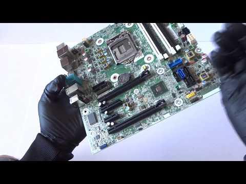 HP Z230 Workstation 698114-001 Motherboard Overview