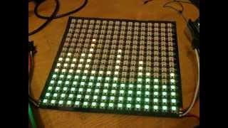 Homebrew Arduino MSGEQ7 Shield Color Organ with