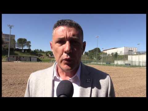 Calcio, l'Arezzo prepara un campo tecnologico alle Caselle