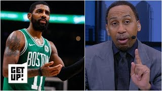Knicks have a 'real good shot' at Kyrie Irving in free agency - Stephen A. | Get Up!