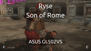 Gameplay of Ryse: Son of Rome on the ASUS GL502VS running the nVidia GTX 1070.Captured with nVidia GeForce Experience.Twitter: https://twitter.com/IVIauriciusInstagram: https://www.instagram.com/IVIauriciusFacebook: https://www.facebook.com/IVIauriciusSteam: http://steamcommunity.com/id/IVIauriciusPatreon: https://www.patreon.com/IVIauriciusPayPal Donate: https://goo.gl/yvOyR1ASUS GL502VS Specs:Intel Core i7 6700HQ32GB 2133Mhz DDR4 RAM1TB Crucial MX300 m.2 SSD2TB Seagate 5400RPM HDDnVidia GTX 1070Settings:Max Settings1920x1080GSync Disabled