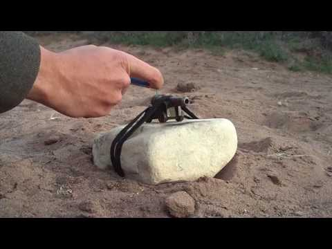 Cannon - Found the old mini cannon! Here's a few clips of the mini cannon in some hardcore action! This cannon fires .22 projectiles, mostly pulled from 22lr cartridges.