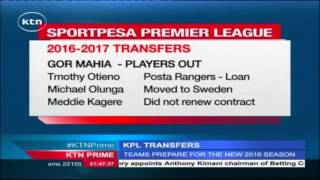 New Players Plus Those Who Switched Clubs In The KPL Transfer Season
