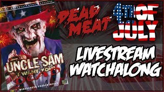 To celebrate Independence Day we're gonna do a livestream watchalong of the 1996 horror movie Uncle Sam! Patreon ► https://www.patreon.com/deadmeatjamesDead Meat on Social Media:Twitter ► https://twitter.com/deadmeatjamesInstagram ► http://instagram.com/deadmeatjamesFacebook ► https://www.facebook.com/deadmeatjamesJames A. Janisse on Social Media:Twitter ► https://twitter.com/jamesajanisseInstagram ► http://instagram.com/jamesajanissePractical Folks (James's other channel):https://www.youtube.com/practicalfolks
