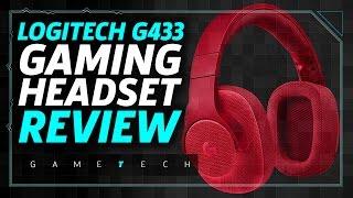 Logitech G433 Headset Review by GameSpot