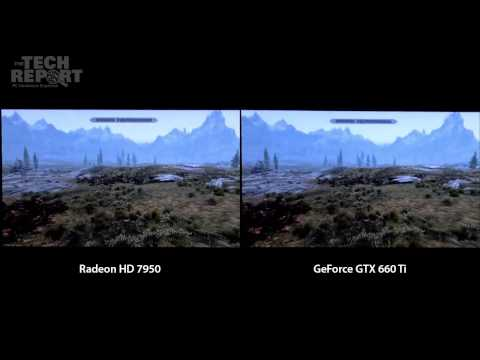 NVIDIA GeForce GTX 660 Ti Smoother Than AMD Radeon HD 7950 – Video