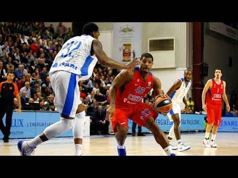 Highlights: RS Round 2, Dinamo Banco di Sardegna Sassari 78-107 CSKA Moscow