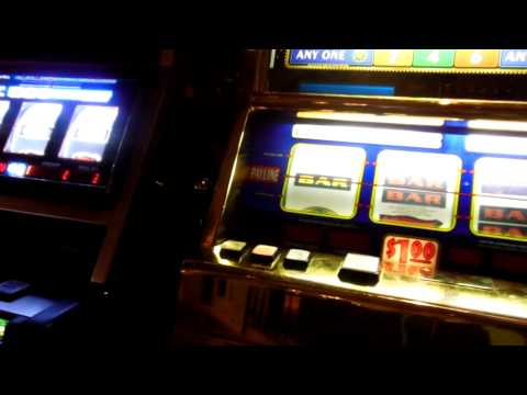 Lions Share Slot machine bet for Tampa coworkers and myself