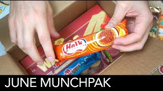 Back to the old format of unboxing treats from MunchPak.