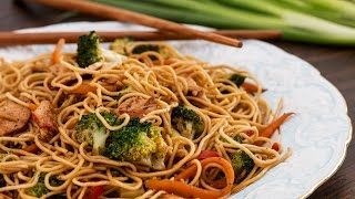 Chicken Stir-Fry Noodles Recipe by Home Cooking Adventure