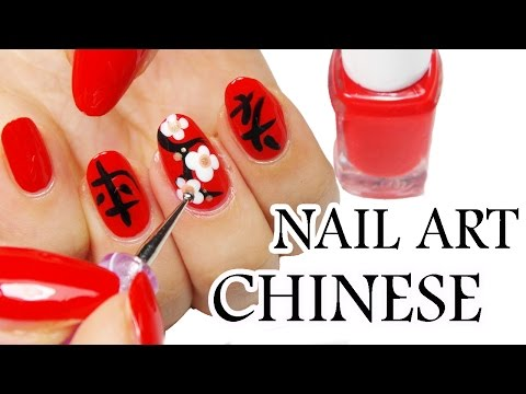 nail art- stile cinese!