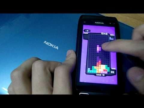 Nokia X7 ve C7 Uyumlu Symbian^3 HD Tetris Oyunu