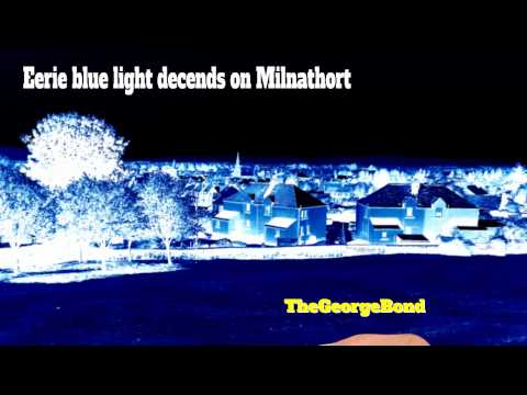 Blue light in Milnathort