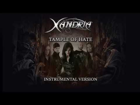 XANDRIA - Temple Of Hate (instr.; audio)