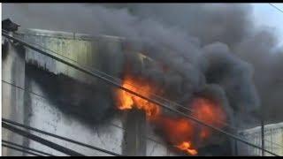 Continúa fuego en Casa Hermanos Jerez