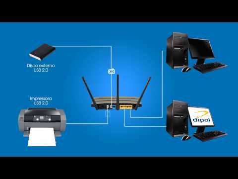Router  TP LINK N750 TL-WDR4300 Dual-band Gigabit Wifi