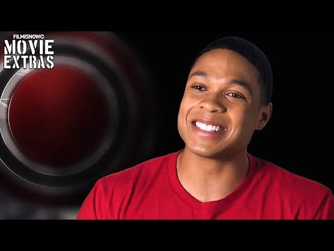 """Justice League   On-set visit with Ray Fisher """"Victor Stone / Cyborg"""""""