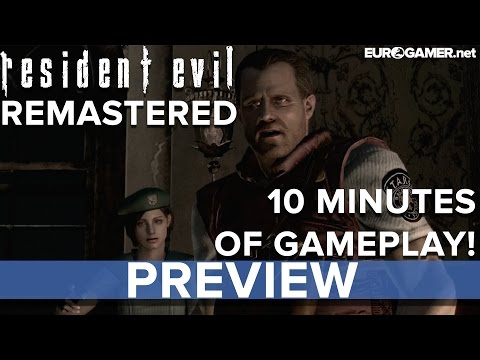 minutes - Resident Evil 1: Remastered - 10 minutes of gameplay! - Eurogamer Preview If you don't watch this, you'll be a Jill Sandwich! Enclosed in this here video is 10 minutes worth of gameplay from...
