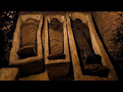 Αίγυπτος: Ανακαλύφθηκε τάφος με 50 μούμιες