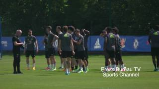 Chelsea Training pre Chelsea vs Arsenal FA CUP FINAL Video