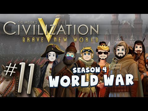 5: - Deep strategy, cunning and diplomacy will be required to win control of the World in Civ 5! Join us as we bum around and chat about nonsense for hours :) Lew...