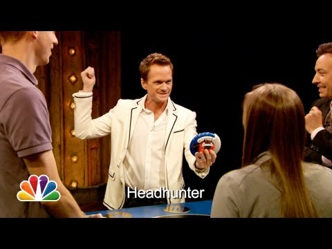 Jimmy Fallon - Jimmy and Neil Patrick Harris team up with audience members and compete in a game of Catchphrase. Subscribe NOW to Late Night with Jimmy Fallon: http://full....