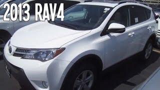2013 TOYOTA RAV4 REVIEW ENGINE START UP INTERIOR