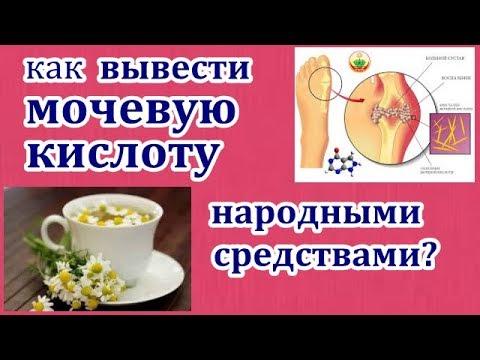 Как вывести мочевую кислоту из организма народными средствами. (видео)