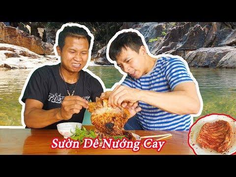 Black - Sườn Dê Nướng Muối Ớt Siêu Cay ( Super spicy grilled goat ribs ) - Thời lượng: 13 phút.