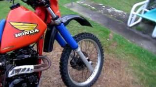 9. Honda xr250 1985 Cold start