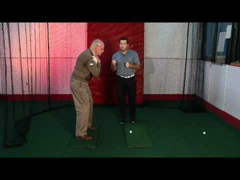 Golf Posture Shoulder Turn Tip – Golf Tip from Professional Coach Adam Harrell