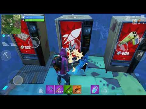 Something is happening with the Fortnite cube ( some play ground game play