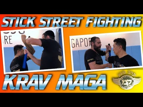 KRAV MAGA STICK STREET FIGHTING