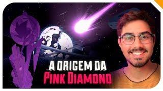 Pink Diamond surgiu de um Meteoro que atingiu Homeworld  Teoria Steven Universo  Quarto Setor