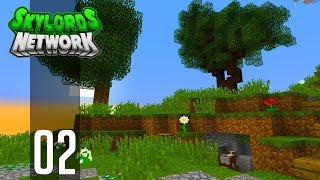 •Minecraft Skyblock - Ep. 2: EPIC TERRAFORMING! (Skylords Network)•