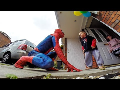 The Amazing SpiderDad 5yr Old Son Battling Cancer Gets