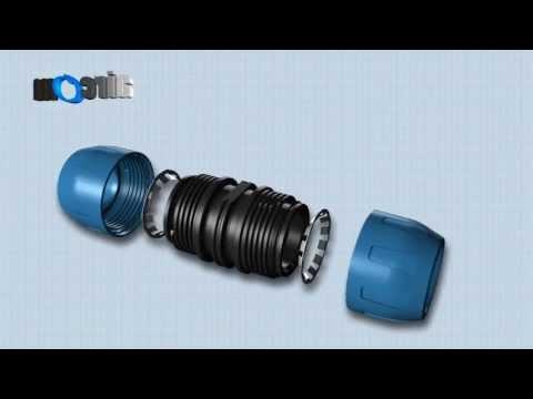 RACCORDI IN TECNOPOLIMERO | 16 mm - 63 mm