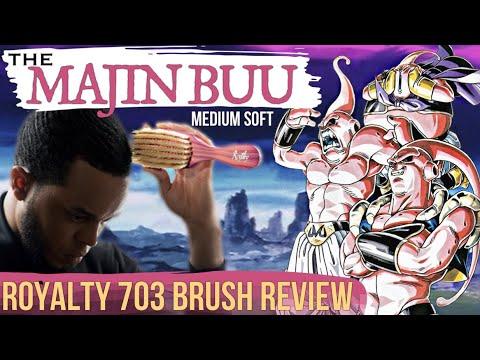 360 Waves: Royalty 703 Brush Review - The Majin Buu Medium Soft Brush (14 of 52) (видео)