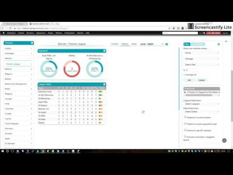 BTC Stats Software – Promoted / Relegated Teams