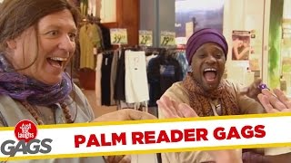 Best Palm Reader Pranks - Best of Just For Laughs Gags
