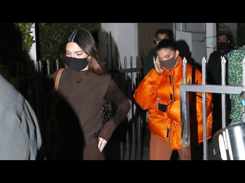 Kendall And Kylie Jenner Turn Heads With Dinner Outing At Giorgio Baldi