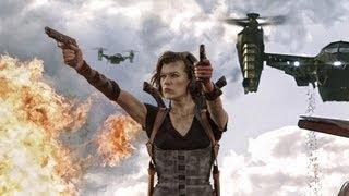 Resident Evil Retribution Trailer