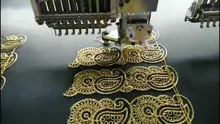 Intelligent Cording Device for Embroidery Machine (OLH040) youtube video