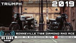 4. 2019 TRIUMPH BONNEVILLE T120 DIAMOND AND 2019 TRIUMPH BONNEVILLE T120 ACE Review Release Date Specs