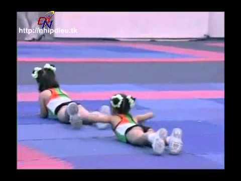 http://nhipdieu.tk - thi đấu aerobic mẫu giáo - ước mơ thần tiên
