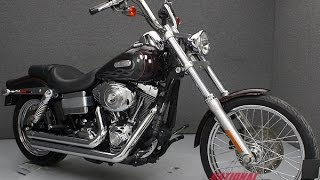 6. 2006  HARLEY DAVIDSON  FXDWGI DYNA WIDE GLIDE  - National Powersports Distributors
