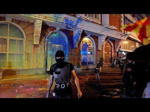 Σκόπια: «Πολύχρωμη Επανάσταση» κατά της διαφθοράς