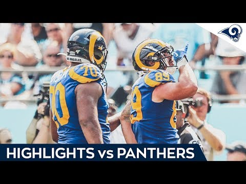 The Best Moments from Rams Win over the Panthers | Week 1